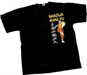 Bild von T-Shirt in schwarz