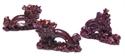 Bild von Drachen Figur rot 6 cm