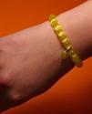 Bild von Armband Sonne gelb mit Herzanhänger