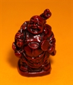 Bild von 9 cm rot Buddha Figur Besinnlichkeit