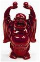 Bild von Buddha rot 9 cm Einklang