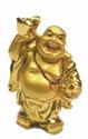 Bild von 9 cm gold Buddha - Wohlstand - 1 Schale links