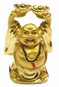 Bild von 9 cm gold Buddha - Wohlstand - mit 2 Schalen