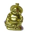 Bild von Buddha Gold 5cm