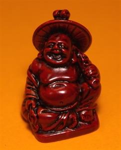 Bild von Buddha Rot 2 cm