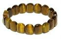 Bild von Tigerarmband mit ovalen Steinen