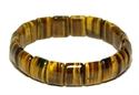 Bild von Tigerarmband mit breiten Steinen