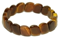 Bild von Tigerarmband mit ovalen breiten Steinen