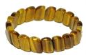 Bild von Tigerarmband mit schmalen ovalen Steinen