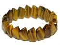 Bild von Tigerarmband mit Rautenförmigen Steinen