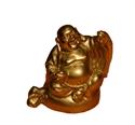 Bild von 5cm gold Buddha Figur Weisheit - Erhobene Hand