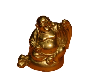shaolin merchandising shop 5cm gold buddha figur weisheit erhobene hand. Black Bedroom Furniture Sets. Home Design Ideas