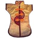 Bild von Dekorations-Flaschenüberzug gelb