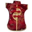 Bild von Dekorations-Flaschenüberzug rot