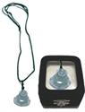 Bild von Halskette mit grünem Jade Buddha