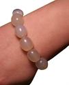 Bild von Weißes Jade-Armband