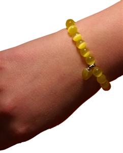 Bild von Armband Sonne gelb