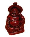 Bild von 9 cm rot Buddha Figur Harmonie